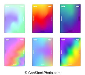 Abstract poster collection