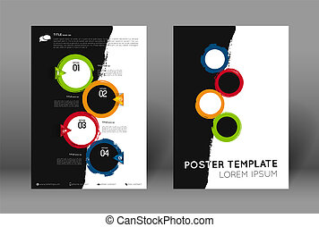 abstract poster template