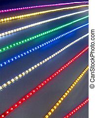 abstract power lighting, energy diversity