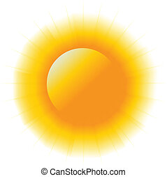 Abstract power sun image logo