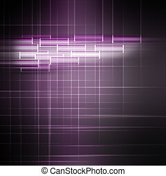 Abstract powerful illustrated background object