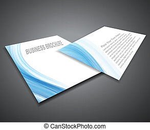abstract Professional business  corporate brochure design presentation Vector illustration