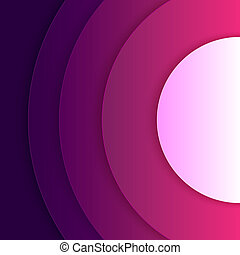 Abstract purple and violet round shapes background -...