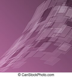 Abstract purple background with geometric