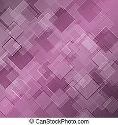 Abstract purple background with rhombus