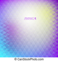 Abstract purple geometric pattern