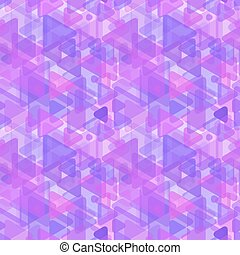 Abstract purple shapes, modern seamless pattern