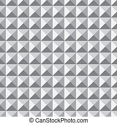 Abstract pyramid pattern
