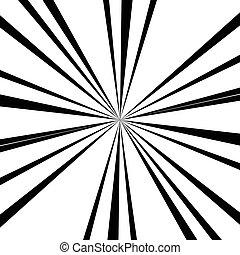 Abstract radial lines (starburst, sunburst) circular pattern