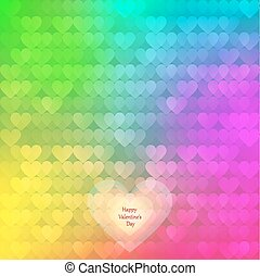 abstract rainbow background from he