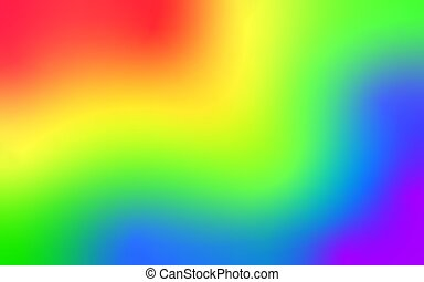 Abstract rainbow background with a smooth, blurry color transition. Vector background with smooth gradient .