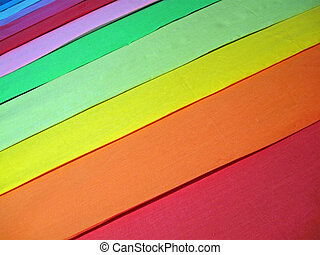 abstract rainbow color textile, background closeup