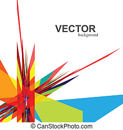 abstract  rainbow colorful creative technology vector design