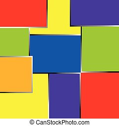 Abstract rainbow colors background or frame.