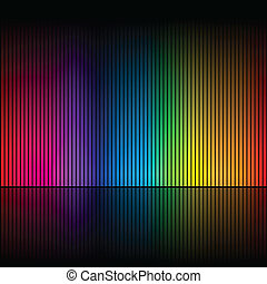 Abstract rainbow colours 1