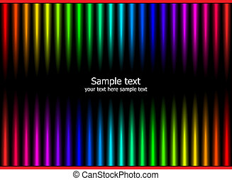Abstract rainbow colours background. Advertise design...