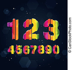 Abstract Rainbow Numbers