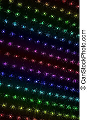 abstract rainbow power lamps lighting, disco industry