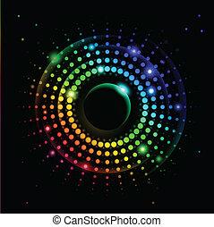 Abstract Rainbow Ray #2
