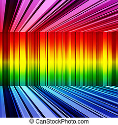 Abstract rainbow retro stripes colorful background