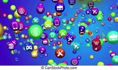 """""""Abstract random mobile apps"""" - """"Abstract random mobile apps..."""