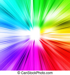 Abstract ray light. 3d background