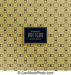 abstract rectange geometric pattern design