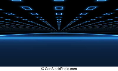 """""""Abstract rectangles motion technology background"""""""