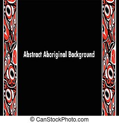 abstract red and black background native