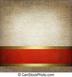 Abstract red and gray background or paper with bright center spotlight and dark border frame with grunge background texture. For vintage layout design of light colorful graphic art