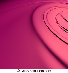Abstract red background. Clean, detailed render. Series.