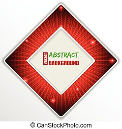 Abstract red  background design with text