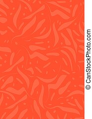 Abstract red background - Vector Illustration