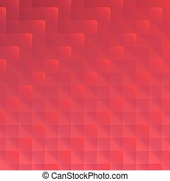 Abstract red background, vector
