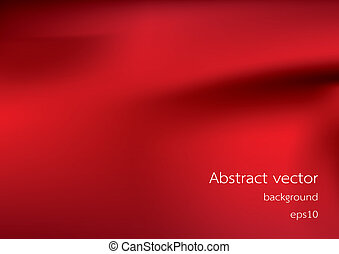 Abstract red background, vector ill