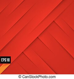 Abstract red background with lights and shadows