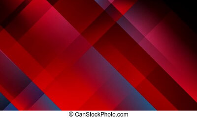 Abstract red blue tech minimal video animation - Abstract...