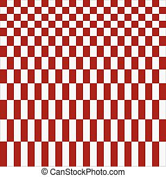 Abstract red checkered pattern background