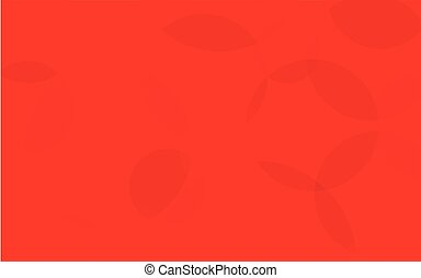 Abstract Red Circle Background