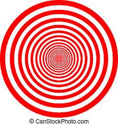 red circle illustration