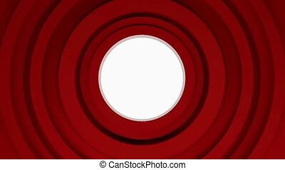 abstract red circles