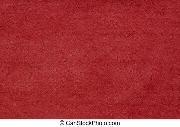 Abstract red felt background. Red velvet background.