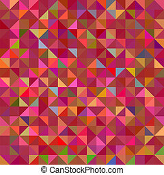 Abstract Red Geometric Color Backgr