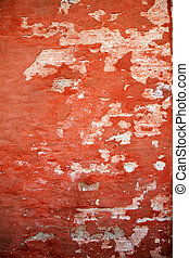 abstract red grunge wall texture background