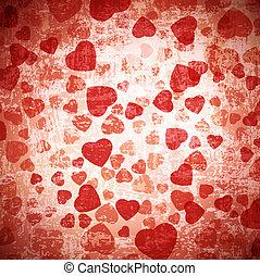heart grunge background