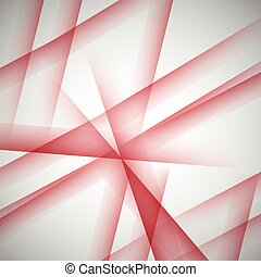 abstract red lines on a white background