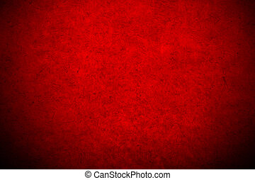 Abstract red mulberry paper texture