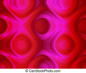 Abstract Red Roses Background