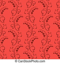 abstract red seamless background