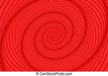 Abstract red spiral background